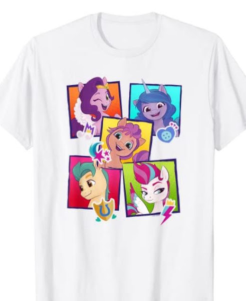 My Little Pony: A New Generation Group Pony Boxes T-Shirt