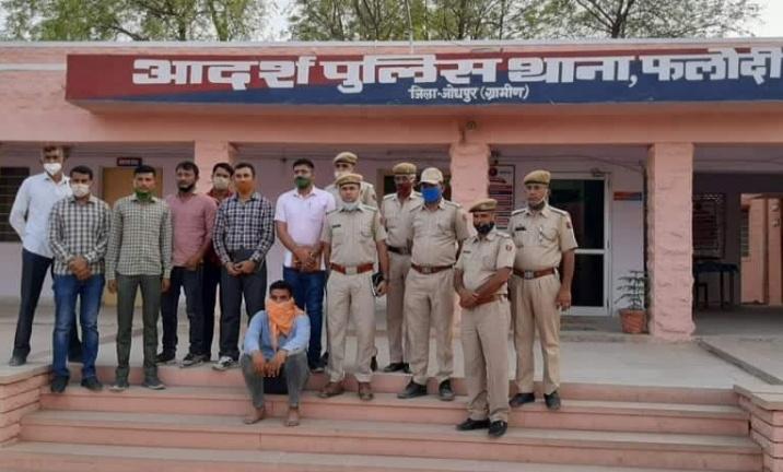 जोधपुर: 16 कैदियों को जेल से फरार करवाने वाला मुख्य आरोपी दबोचा गया