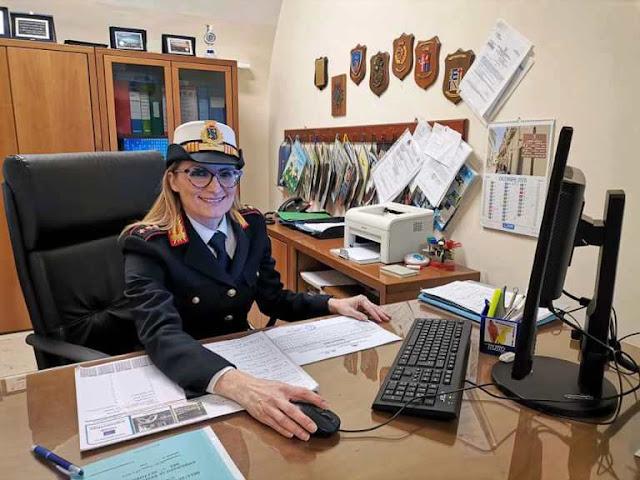 Lina Cotugno nuovo Comandante della Polizia Locale di Monte Sant'Angelo