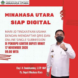Minahasa Utara Siap Digital