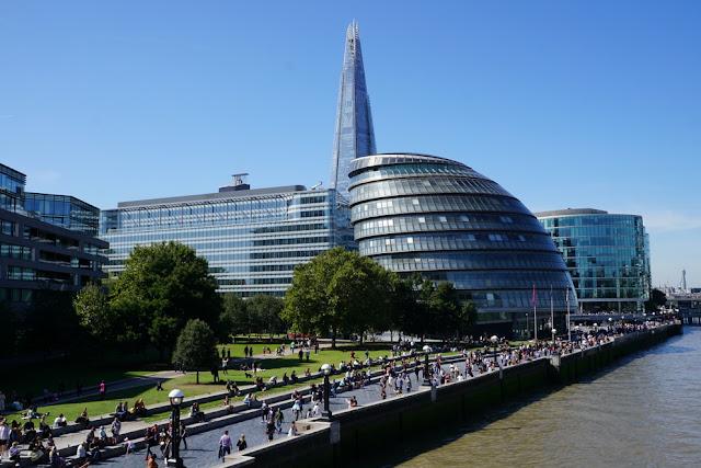 City Hall e o arranha-céu The Shard