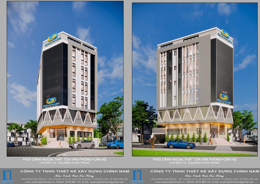 CC22: Tòa nhà văn phòng và căn hộ cho thuê - Anh Trung
