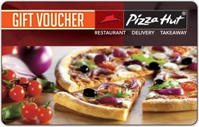 Pizza Hut Gift Voucher worth Rs.1000 for Rs.750 Only @ Amazon(Limited Period Offer)