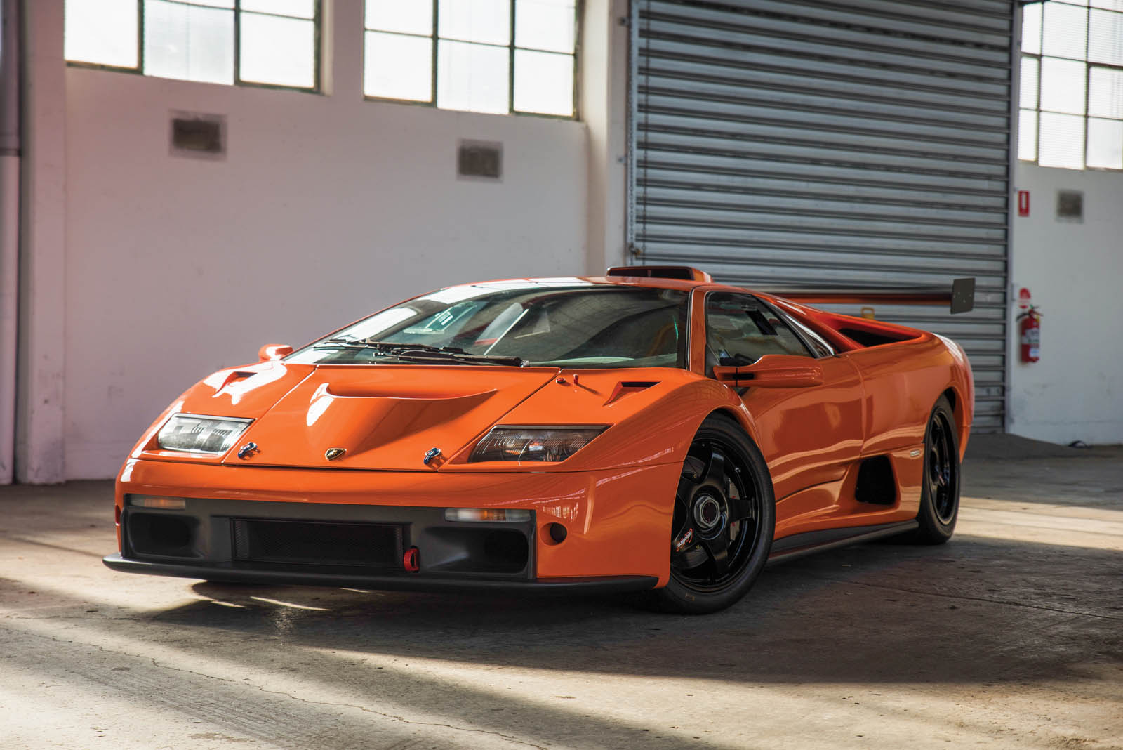 This Lamborghini Diablo Gtr Is Just Begging For A Day At
