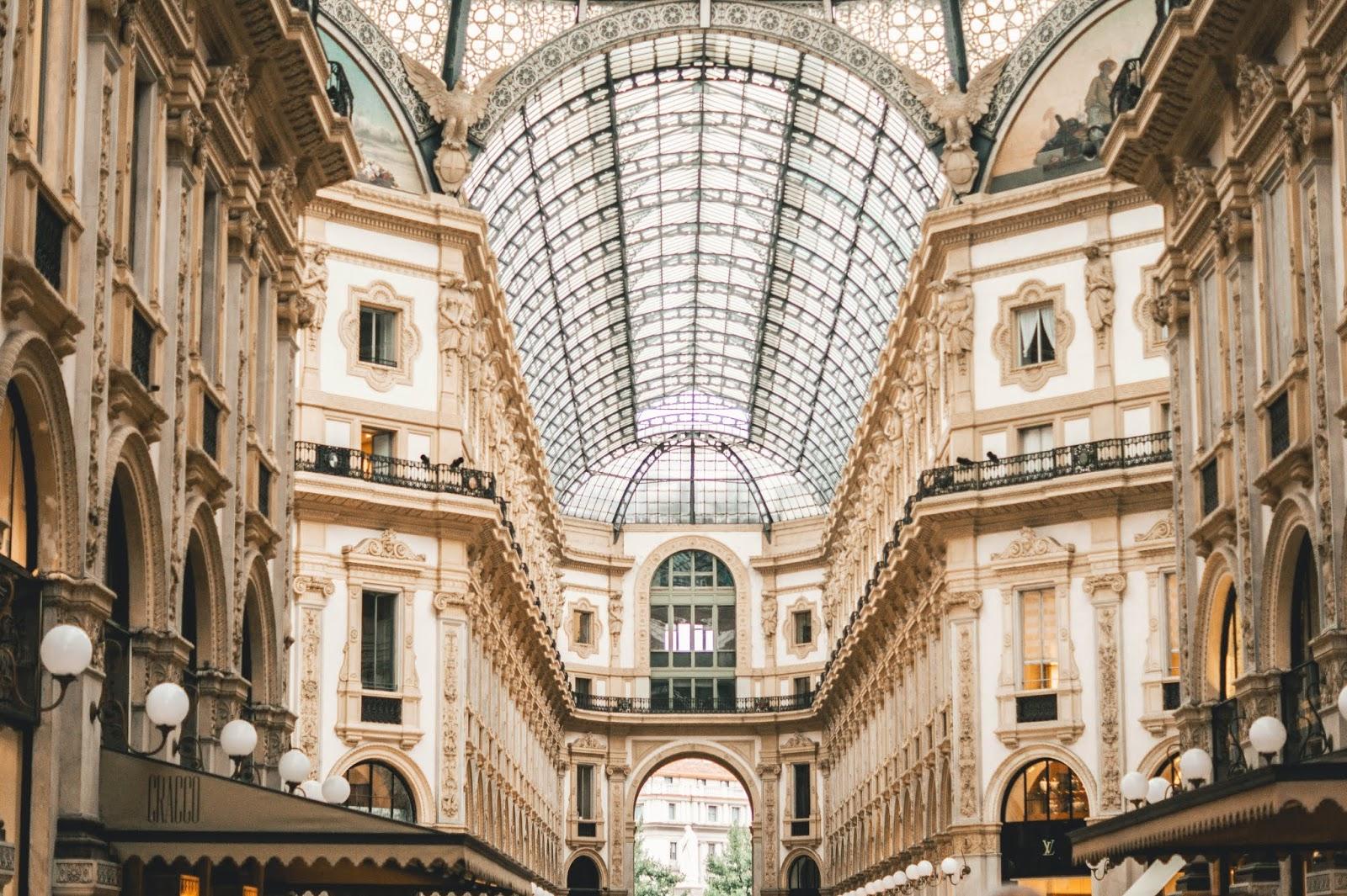 Galerie Milan voyage blog