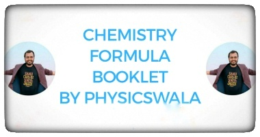 Chemistry formula sheet physics wallah