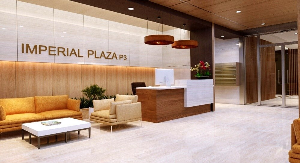 Sảnh đón tiếp dân cư Imperial Plaza
