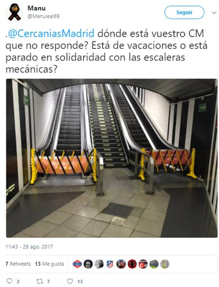 Cercanías Madrid dónde está vuestro CM