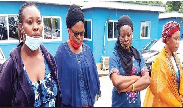Faces Of Four Women Who Sold Newborn For N1.5m (Photo) #Arewapublisize