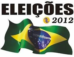Bandeira do Brasil no dia das eleições municipais 2012.