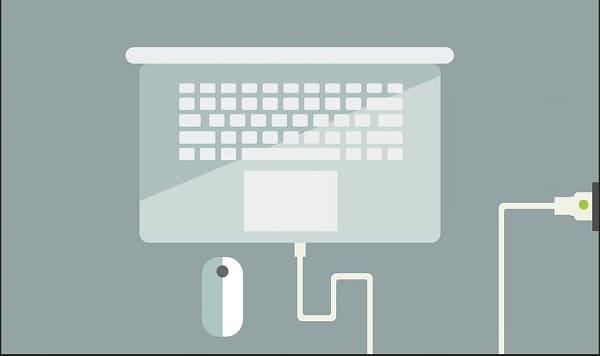 laptop charging