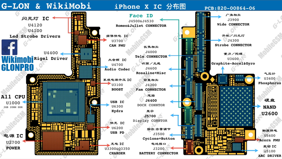 iPhone X Schematic Full Service Manual Download ~ Asia
