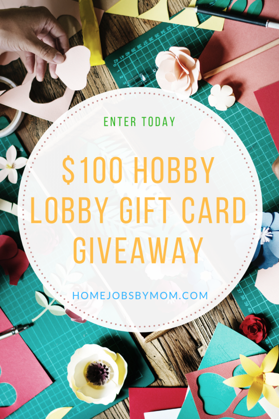 Hobby Lobby Gift Card Giveaway