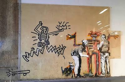 Banksy - Shoreditch London street art graffiti