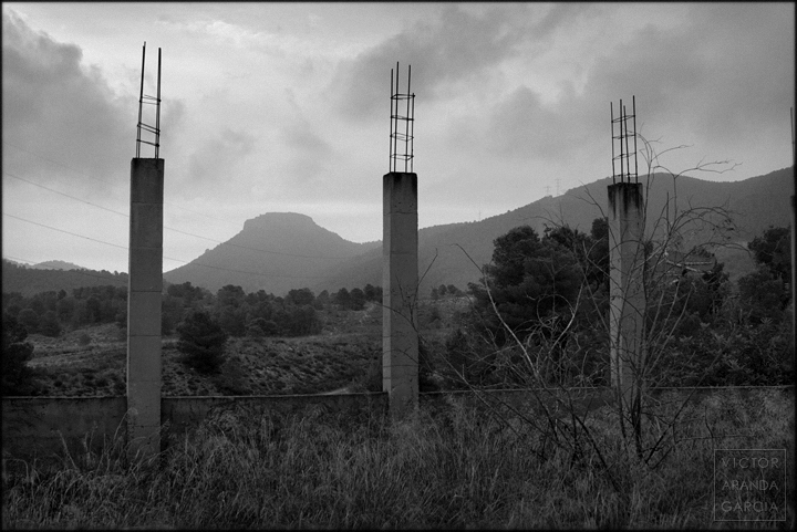 fotografia,murcia,arquitectura,sierra,limites,serie,naturaleza,arte