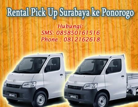 Sewa Pick Up Surabaya ke Ponorogo