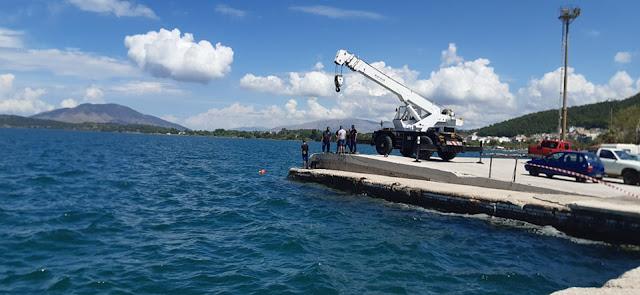 Ήγουμενίτσα: ΙΧ έπεσε στη θάλασσα στο πάρκινγκ της Ηγουμενίτσας