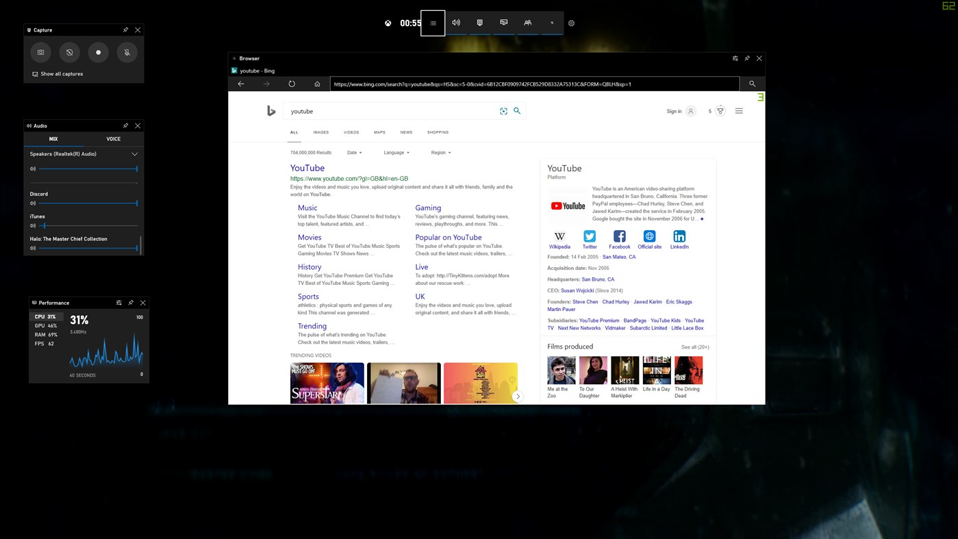 Come avere un browser Web in Xbox Game Bar di Windows 10
