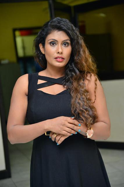 Tollywood Actress Radhika Beautiful Pics in Black Dress Actress Trend