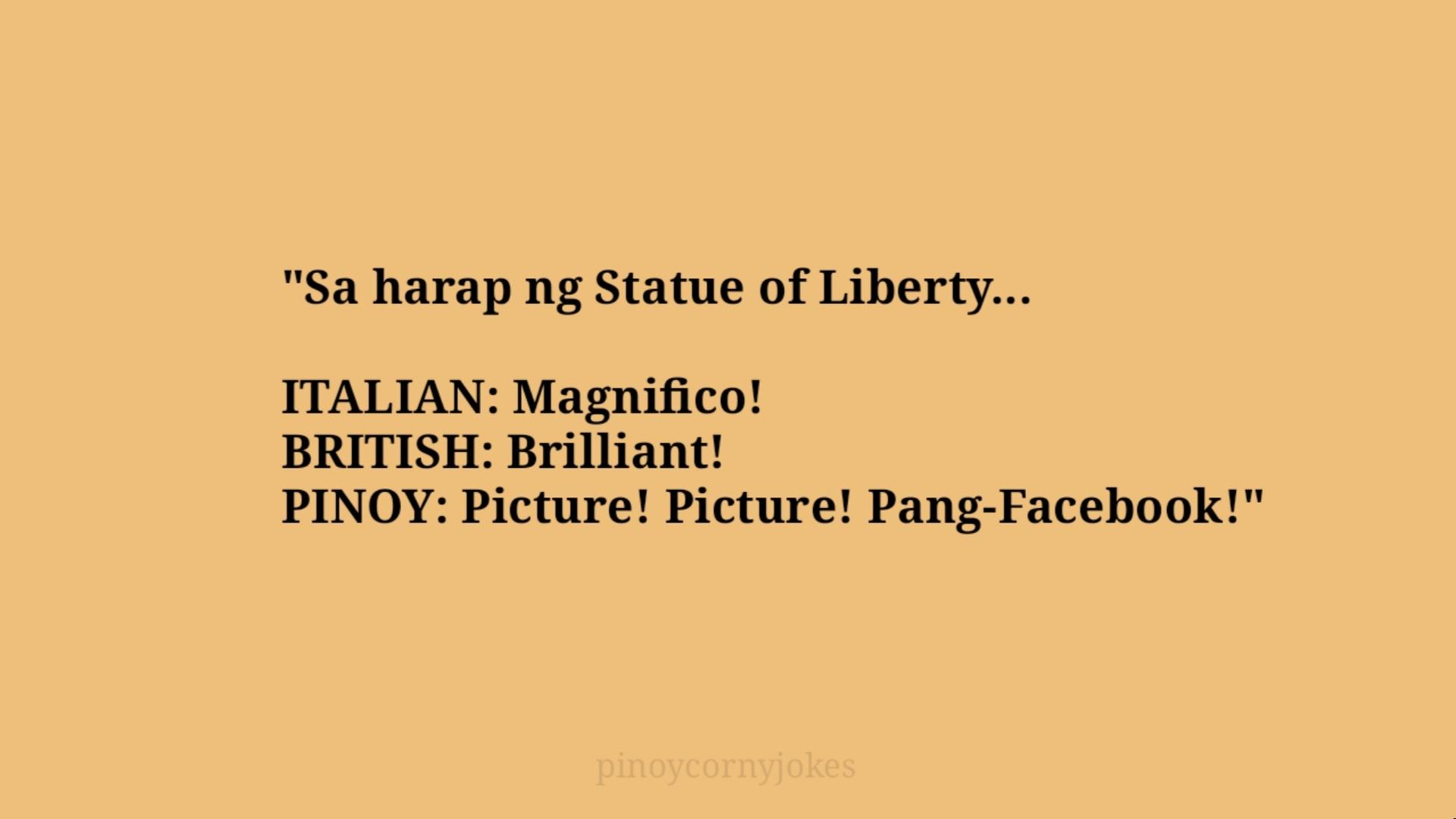 statue pinoy  tagalog jokes 2021