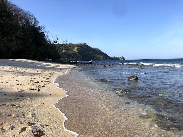 Pantai Pal Marinsow, Likupang Timur, ujung ke ujung  | ©jelajahsuwanto