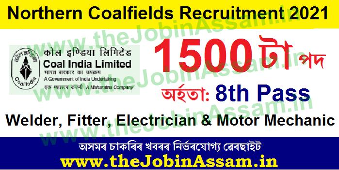 Northern Coalfields Recruitment 2021: