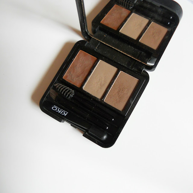 Kiko review kit Eyebrow
