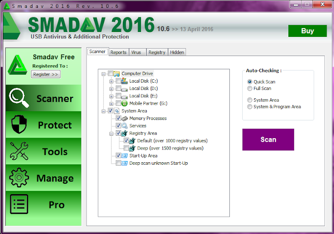 DOWNLOAD SMADAV VERSI 10.6 TERBARU 2016