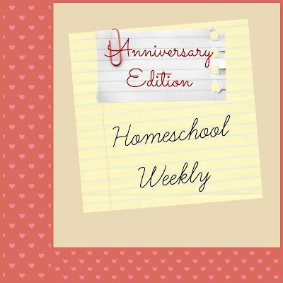 Homeschool Weekly - Anniversary Edition on Homeschool Coffee Break @ kympossibleblog.blogspot.com