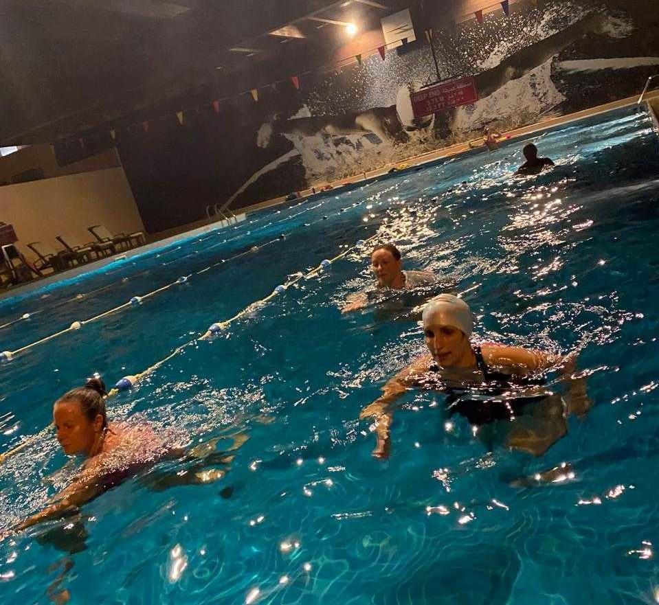 BritSwim aquafitness Muscat Oman ladies