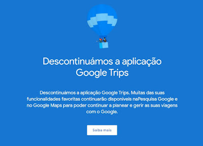 Google Trips: Alternativas para planear e organizar as suas viagens