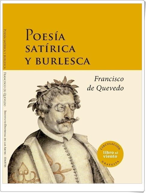 """""""Poesía satírica y burlesca"""" de Francisco de Quevedo"""