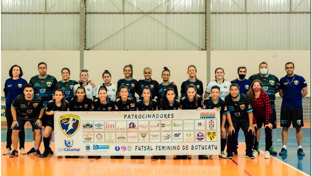 Futsal feminino de Botucatu joga contra Pirajuí no sábado