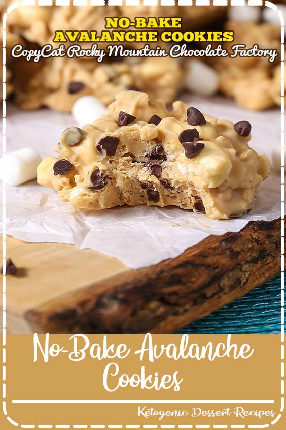 Bake Avalanche Cookies are a simple make No-Bake Avalanche Cookies