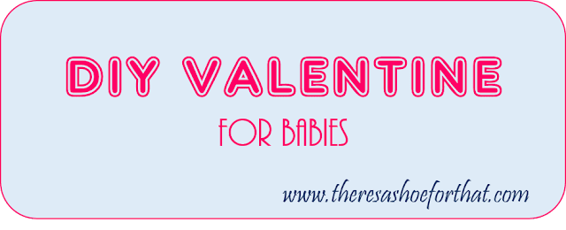 DIY valentine for babies