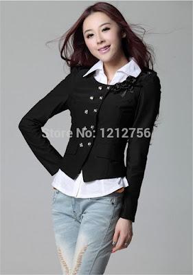 model jaket wanita gemuk terbaru