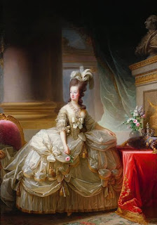 Marie Antoinette  Portrait in Painting Vigée-Lebrun - 1778