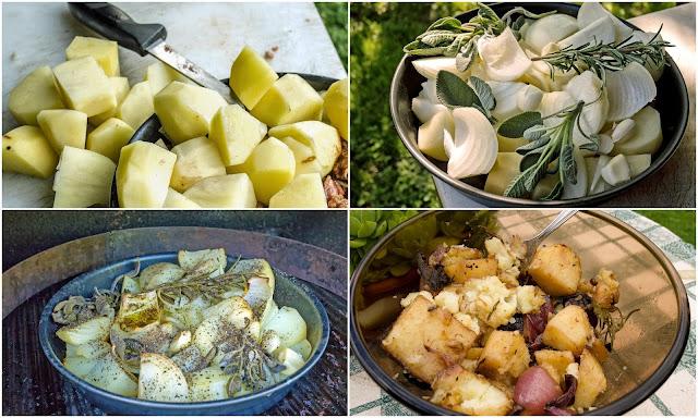 zuppone di patate e cipolla