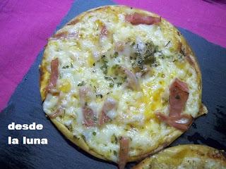 Pizzetas Super Rápidas