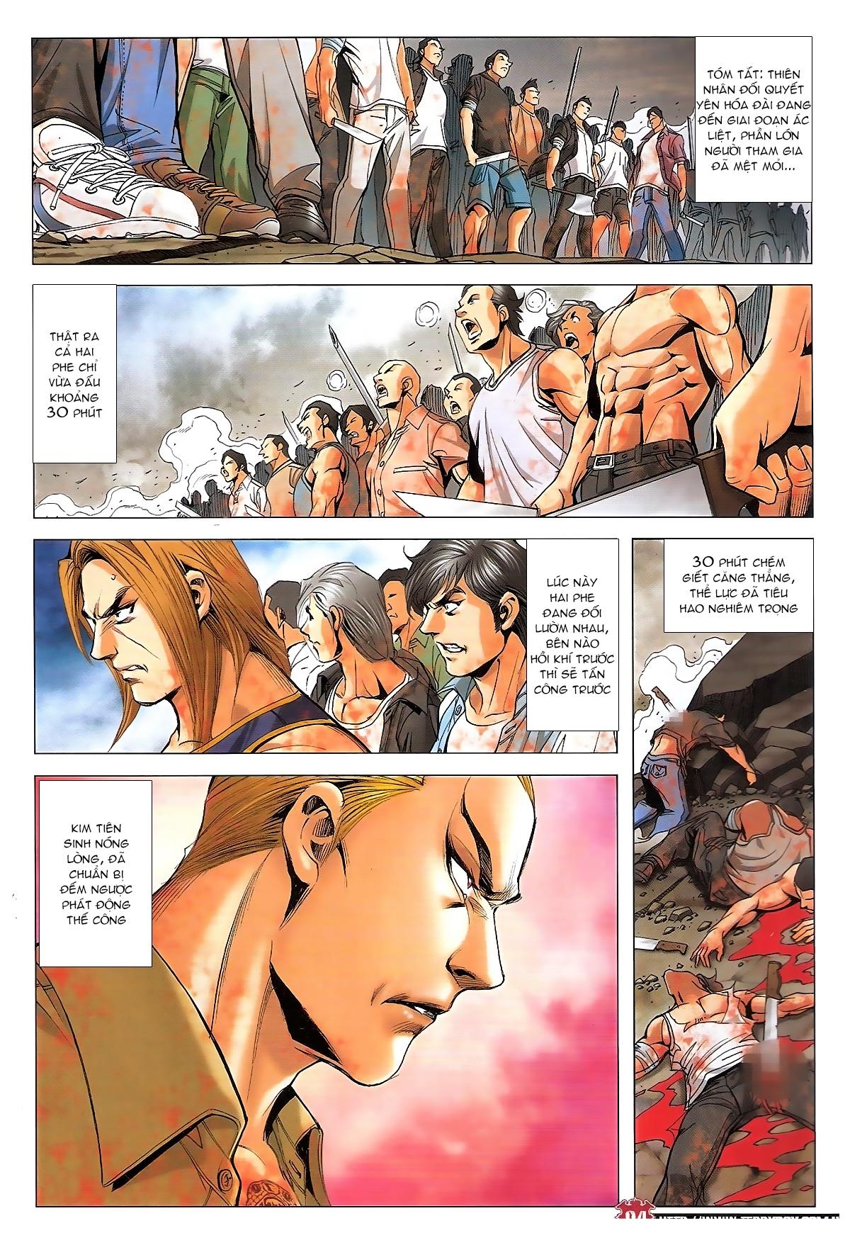 Người Trong Giang Hồ chapter 1840: đại phi ác chiến kim tôn quý trang 3