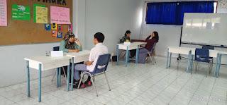 Dokumentasi Psikotes di SMA Garuda Cendekia Mampang Prapatan