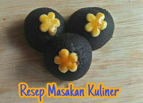 Kue kering Black Nastar, resep black nastar,