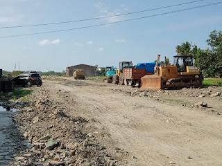 Proyek Milyaran Diluwu Diduga  Gunakan Material Ilegal