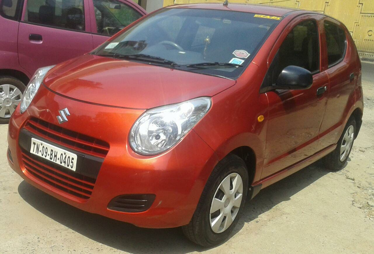 Maruti a star vxi 2010 single owner sun copper color driven only 33500 kms insurance till dec 2019 with inbuilt music system