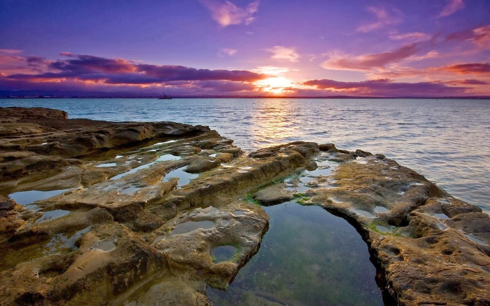 Fond écrans coucher de soleil hd
