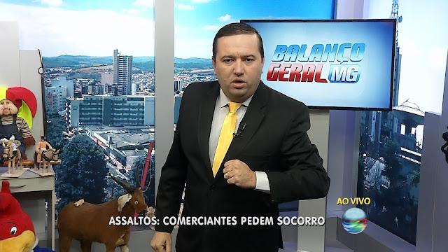 Fabiano Thibé: Foto/reprodução: Record TV