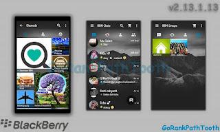 BBM MOD GoRankPathTooth v2.13.1.13 Transparan