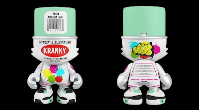 Mintyfresh Exclusive Mint Green SuperKranky Vinyl Figure by Sket One x Superplastic