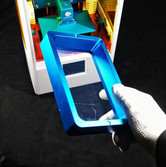 3D принтер Photon AnyCubic. Ванночка для УФ фотополимера. Дно из прозрачной пленки.