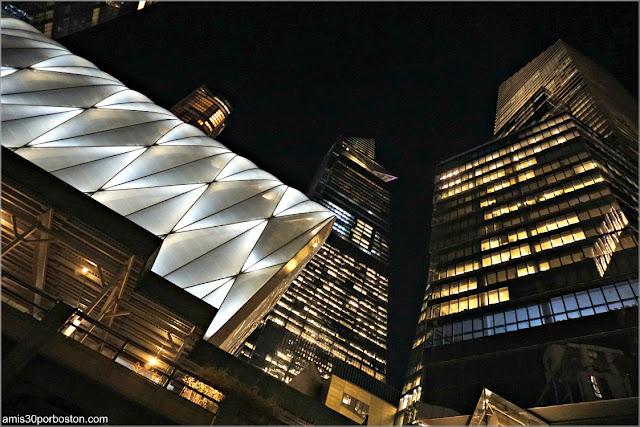 Hudson Yards por la Noche, Nueva York